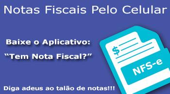 Aplicativo Tem Nota Fiscal?